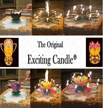 1 Rainbow + 1 Black  Amazing Lotus Flower Music Happy Birthday EXCITING ... - $14.99