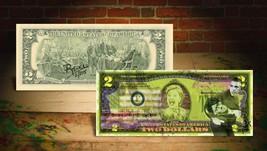 HILLARY CLINTON & BARACK OBAMA Rency / Banksy Art $2 Bill - Artist Signe... - $99.00