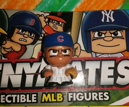 CHICAGO CUBS TEENYMATES SERIES 4 FIGURE WORLD SERIES CHAMPS VERY COOL!!! - $5.00