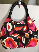 Kate Spade Handbag Pink Orange Black Floral NWOT Multi-color  - $135.95
