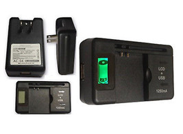 ZTE Director N850L External LCD Battery Charger U.S. Cellular Travel Hom... - $11.95