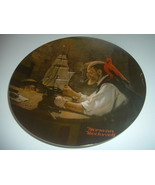 Norman Rockwell The Ship Builder Plate 1980 Vintage - $12.99