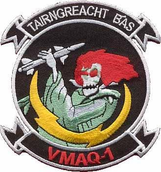 Primary image for USMC VMAQ-1 Tactical Electronic Warfare Squadron Patch