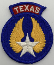 Texas Air Civil Patrol Embroidered Patch Air Force Vintage Aviation Airplane 239 - $9.45
