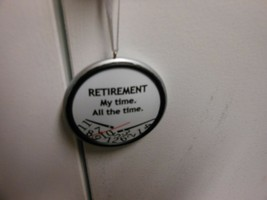 """Hallmark Direct Imports """"Retirement- My Time. All The Time Clock"""" Orname... - $14.80"""