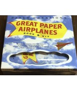 Great Paper Airplanes (book and kit) - $9.50