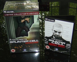 Splinter Cell Conviction Collectors Ed + Double Agent - $249.99
