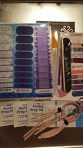 Jamberry Nails - Three × 1/2 sheets of Jamberry Nail Wraps + MORE - $45.00