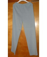 NORDSTROM Women's Knit Light Blue Pants Size S Small  / 6 NEW WITHOUT TAG - $9.99