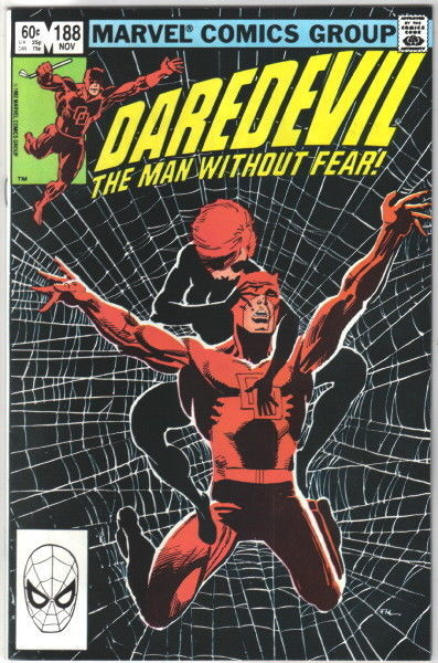 Daredevil Comic Book #188 Marvel Comics 1982 VERY FINE+ NEW UNREAD