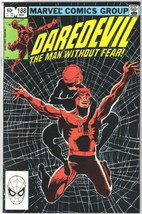 Daredevil Comic Book #188 Marvel Comics 1982 VERY FINE+ NEW UNREAD - $8.79