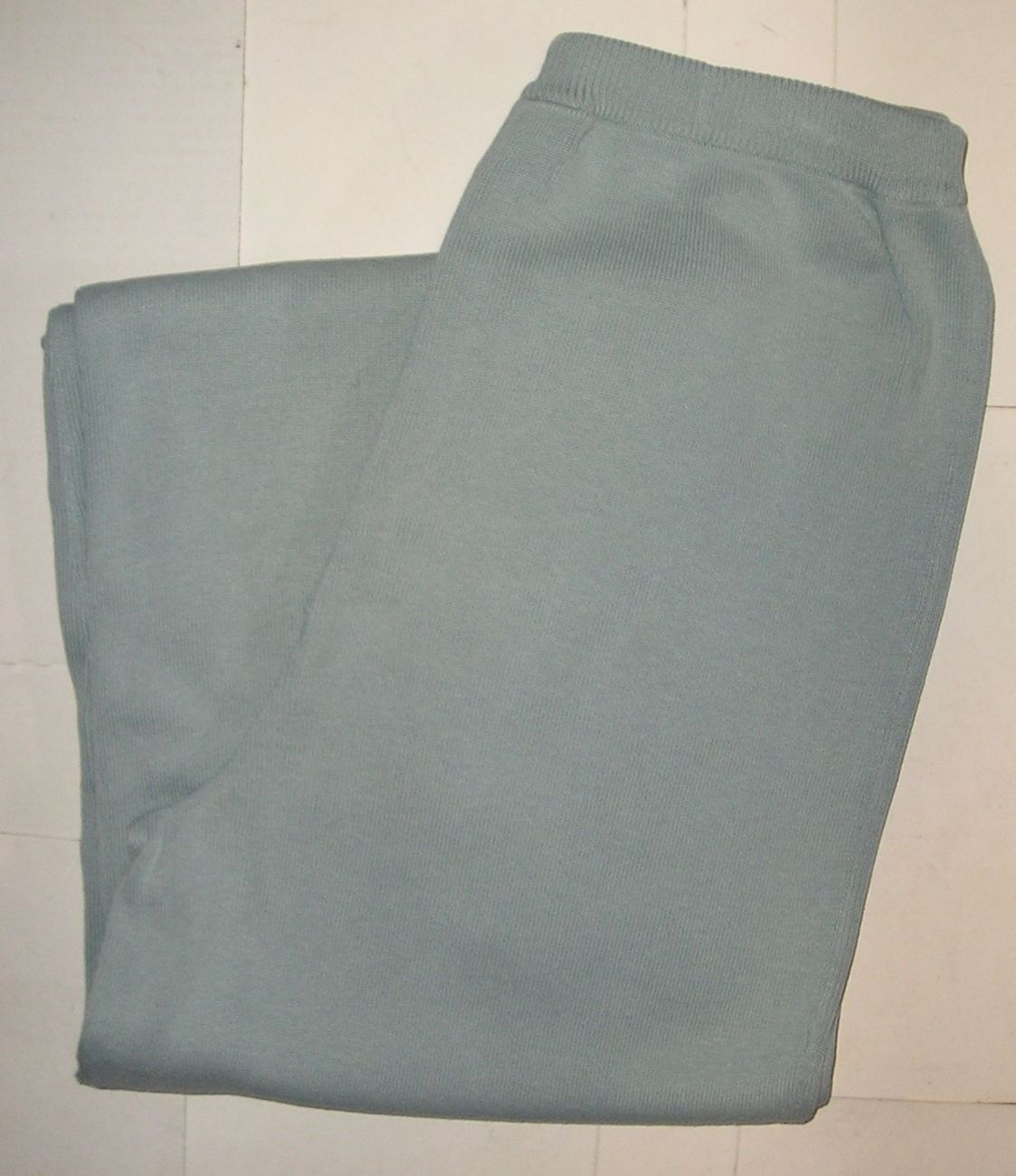 NORDSTROM Women's Knit Light Blue Pants Size S Small  / 6 NEW WITHOUT TAG