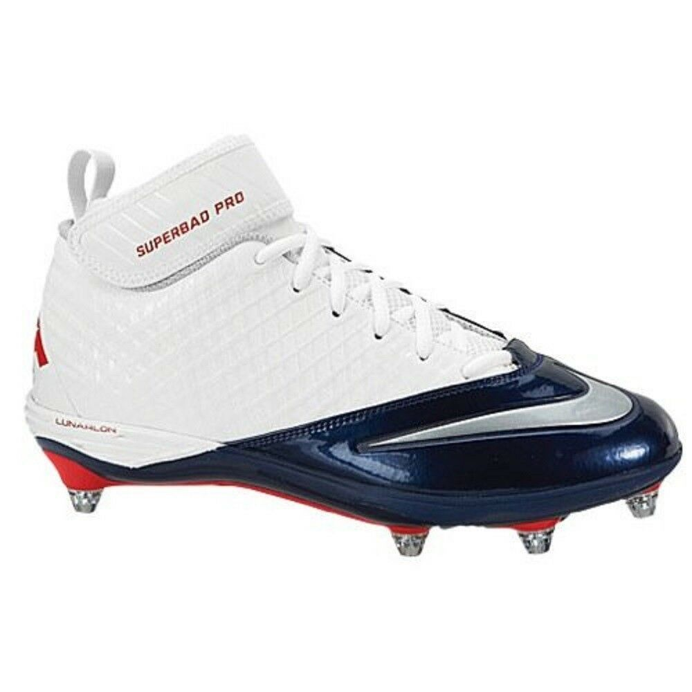 Nike New England Patriots Men's Lunar Superbad Pro Size 14.5 NEW FREE SOCKS - $46.52