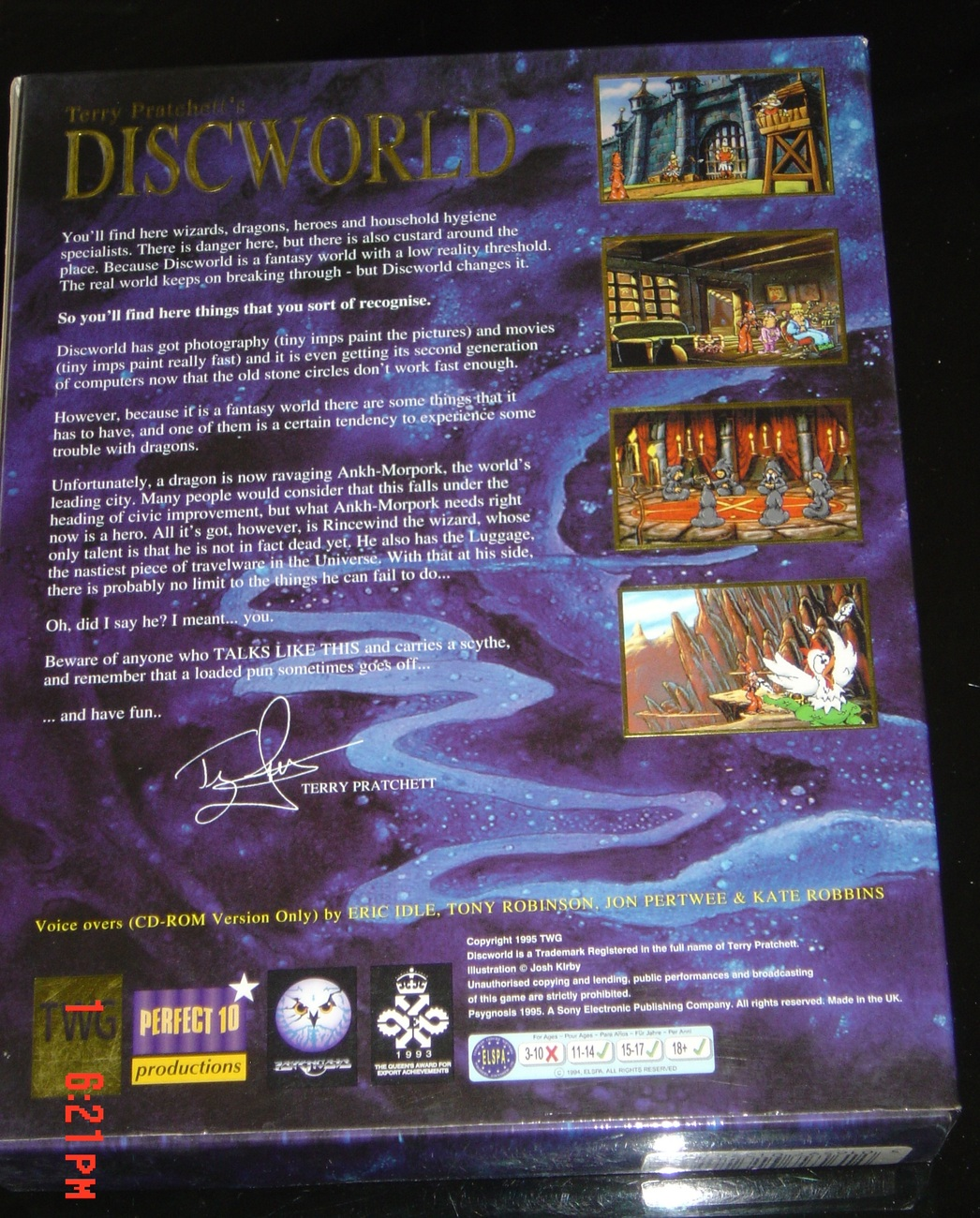 DISCWORLD RARE BIG BOX EDITION
