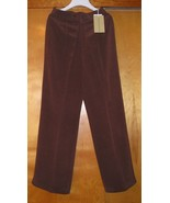NEW PATRICK CHRISTOPHER Women's 100% Silk Cocoa Dress Pants 8 Medium M - $29.99