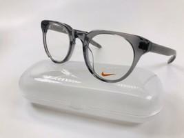 New KIDS NIKE KD88 030 Crystal Dark Grey Eyeglasses 46mm with NIKE Case - $89.05