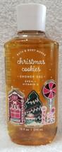 Bath & Body Works CHRISTMAS COOKIES Shower Gel Vitamin E Shea 10 oz/295m... - $24.74