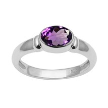 African !! Amethyst 925 Sterling Silver Ring Shine Jewelry Size-8.5 SHRI... - $14.48