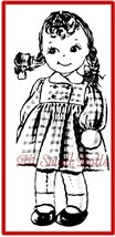 """Vintage Pattern for 15"""" Adorable Cloth Doll - $6.99"""