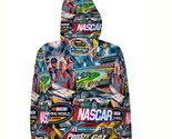 Nascar stickerbomb  hoodie fullprint for women back thumb155 crop