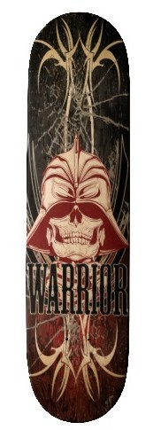 Warrior Custom Comp Skateboard