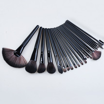 Black24Pcs Professional  Makeup Brush Set Cosmetic Foundation pencil bru... - $2.99