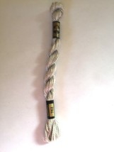 DMC Pearl Cotton #3 #762 15 M Skein Coton Perle Needlepoint Thread Article 115 - $1.79