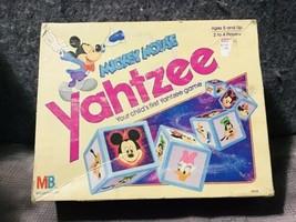 Vintage 1988 Milton Bradley Mickey Mouse Yahtzee Board Game - $24.75