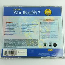 Corel WordPerfect 7 Suite Windows 3.1x  Books and CD Vintage Quattro Pro Paradox image 3