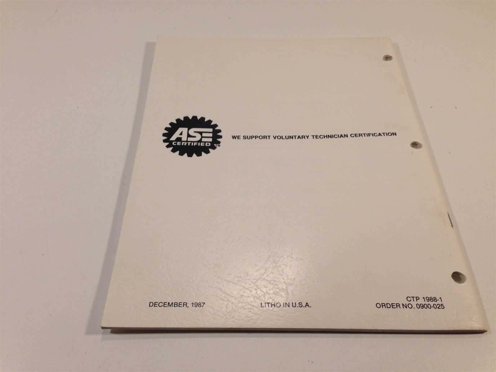 1988 Ford Air inlet Control Systems Manual 0900-25