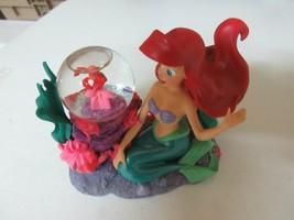 Ariel & Sebastian  , Mini Snow Globe , Rare . Vintage , Collectible - $58.41