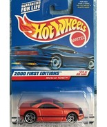Hot Wheels 2000 1st Editions Muscle Tone Orange Brand New & Sealed 24390... - $6.99