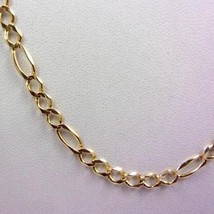 """Solid 10K Yellow Gold 20"""" Figaro Chain Necklace 4.5mm, 8.0 grams - $269.00"""