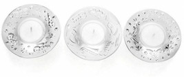 Waterford Christmas Holiday Votive Set of 3 NEW #40032804 Packaged separ... - $123.75