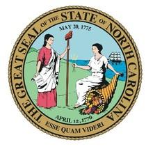North Carolina State Seal Sticker Made In The Usa R550 - $1.45+