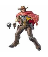 "Hasbro Overwatch Ultimates Series McCREE 6"" Collectible Action Figure - $16.91"