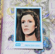 Princess Leia Trading Card, Star Wars, Kellogs, 1984, mint - €8,63 EUR