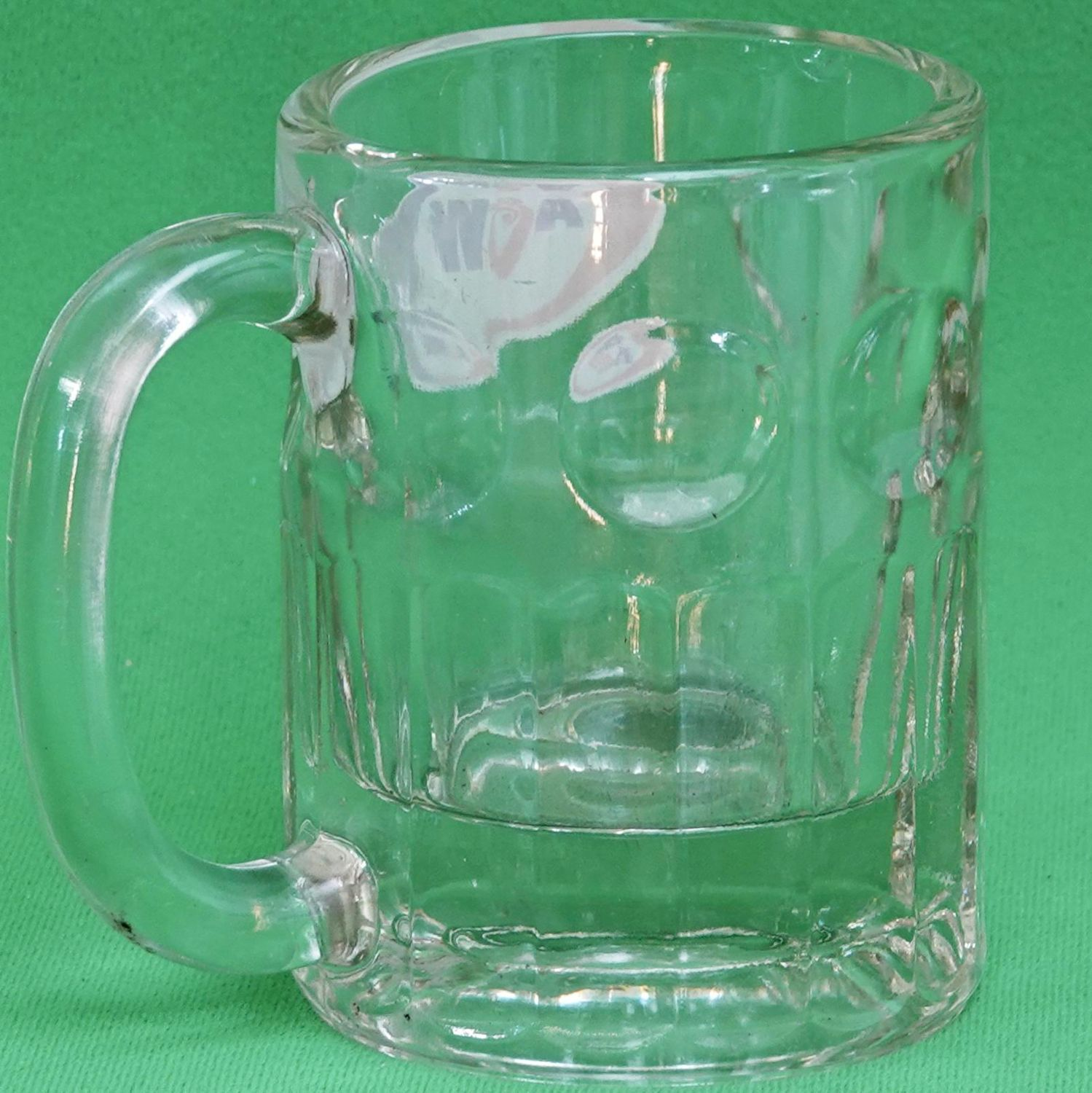 Vintage Short But Solid A & W Glass Root Beer Mug