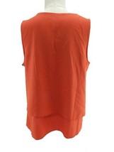 Fylo Women Flowy Top (Tangerine, M) - $23.66