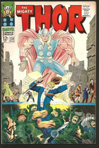 THOR #138 JACK KIRBY STAN LEE Marvel Comics 1967 hot! VF- or better - $63.36
