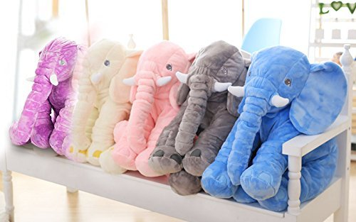 Rainbow Fox Grey Elephant Stuffed Animals Plush Toy Animals Toys Blue image 6