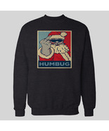 SANTA HUMBUG MIDDLE FINGER CHRISTMAS SWEATER OLDSKOOL  Shirt *MANY OPTIONS* - $39.59+