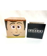 NEW Hallmark Cubeez Disney Pixar Toy Story Woody Storage Tin Sept. 2014 - $8.90