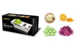 Magikuchen Multipurpose Manual 6-in-1 Vegetable Slicer, Grater, Cutter &... - €13,79 EUR