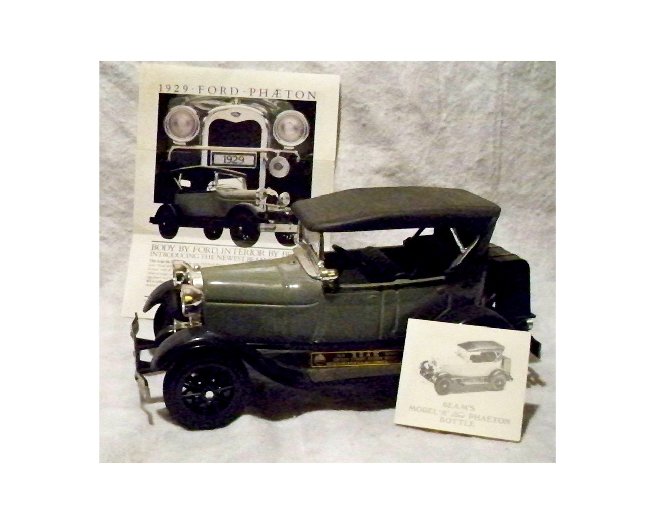Jim Beam 1929 Ford Phaeton Car Decanter Nib 1970 Now
