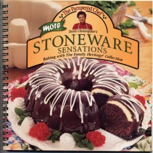 Pampered Chef More Stoneware Sensations Cookbook