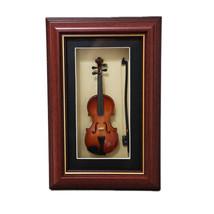Sky Mini Violin Model in Photo Frame with Hanger Delicate GIFT Ideas - $25.99