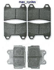 Yamaha Disc Brake Pads FZ400 1997 Front & Rear (3 sets)