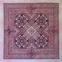 Northern Expressions Needleworks NEN029 - Shades of Rose Chart - $16.32