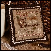 Hot Cocoa Ornament 2012 Series #7 chart Little House Needleworks - $5.40